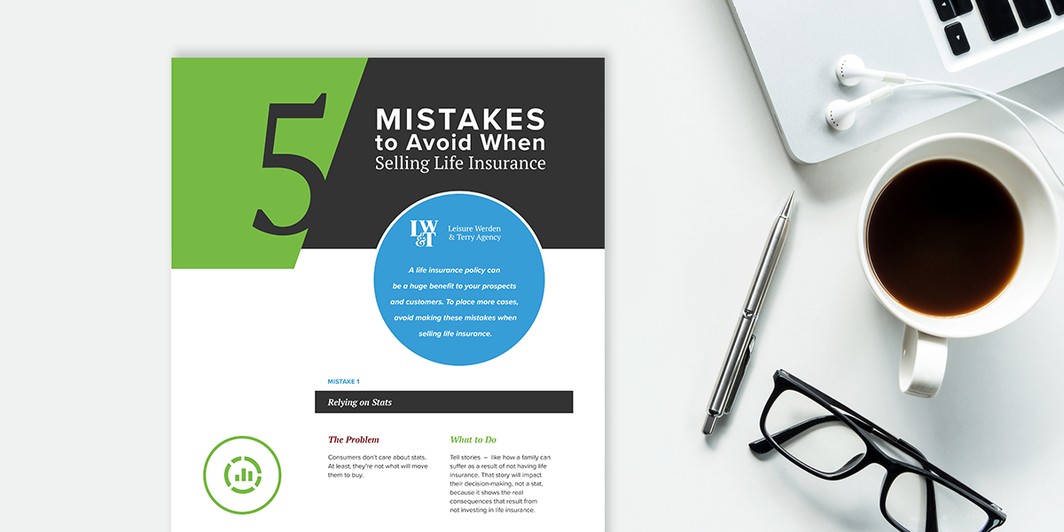5 Mistakes to Avoid When Selling Life Insurance [Infographic]