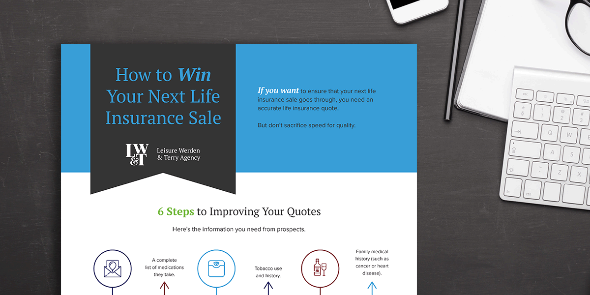 How to Win Your Next Life Insurance Sale (Infographic)